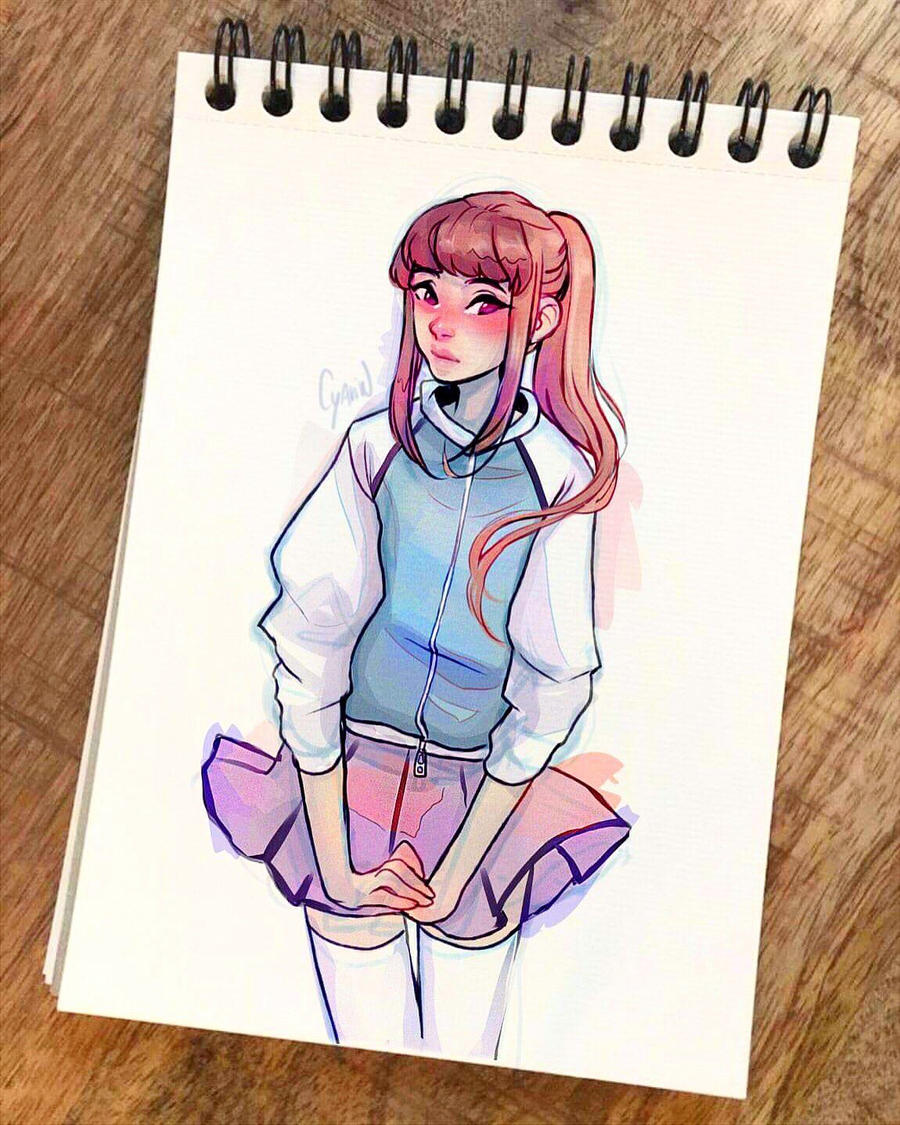 Short skirt by Cyarin