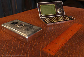 Steampunk Mobile Phone - WIP 2 by Technohippy