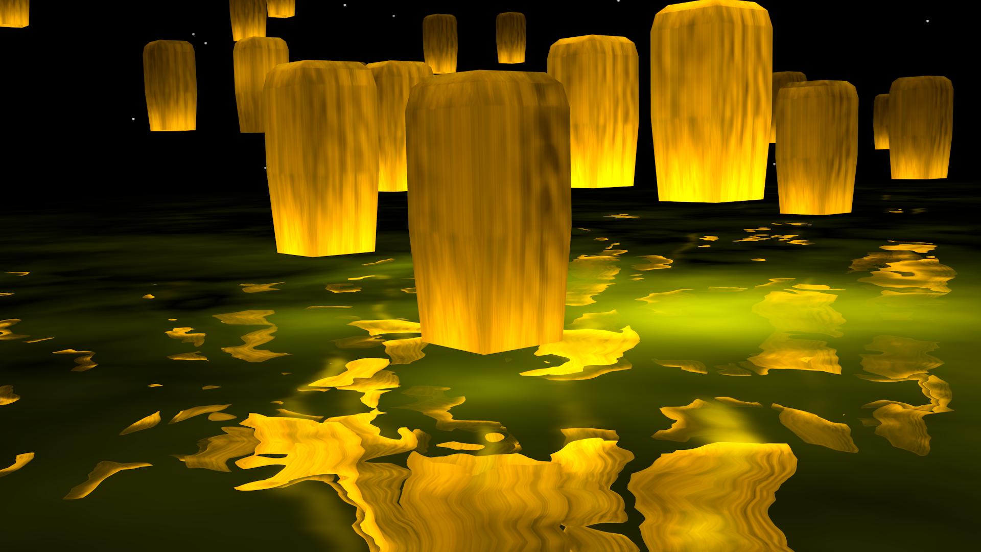 Paper Lanterns 01 By Technohippy On DeviantArt For Lantern Wallpaper 289hul