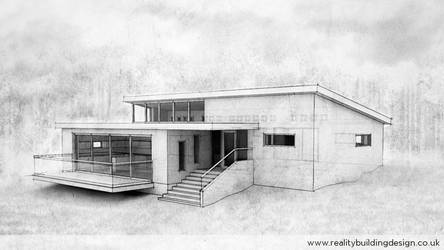 Split level concept - sketch version