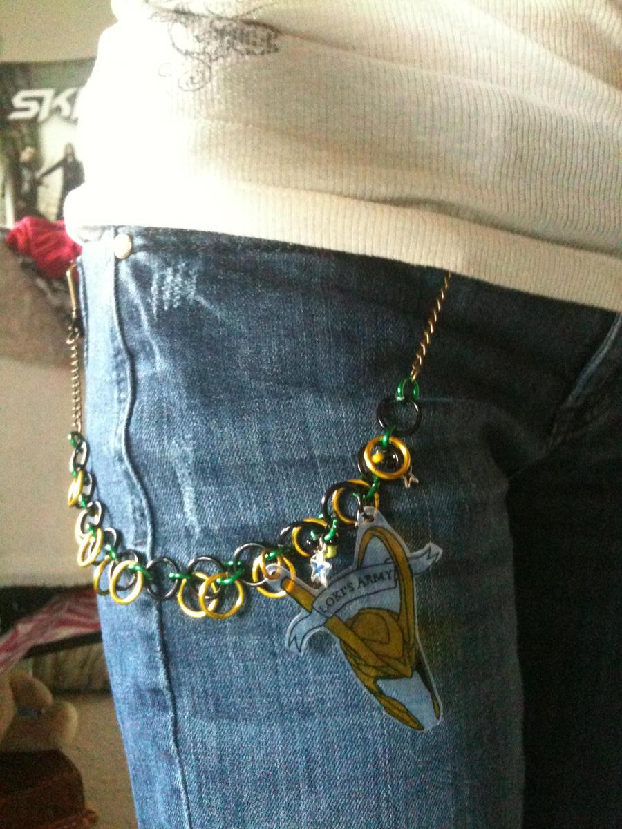 Modified Loki Belt Chain by Terminateher-97