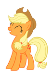 Smiling Applejack