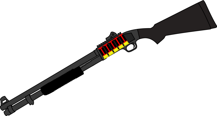 Mossberg 590A1 Vector by Drakefire3k