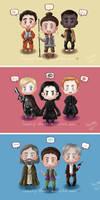 SW: VII Good VS Evil Stickers