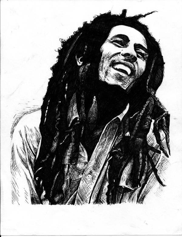 Bob Marley by jessicaw...