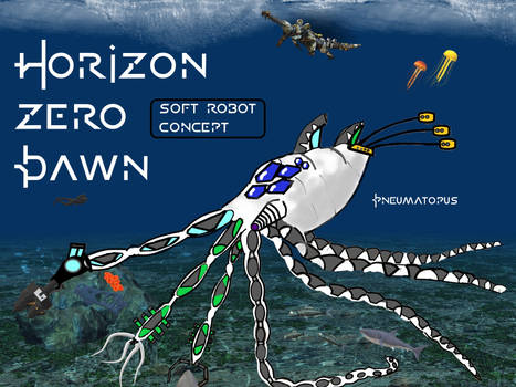 Horizon Zero Dawn Machine Design: Pneumatopus