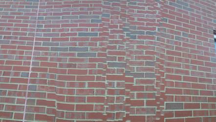 Glitch Art - Brick Wall by annakeaton