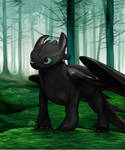 Toothless by Silverti