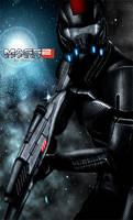 Mass Effect 2 Shepard (2010) by RedLineR91
