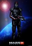 Mass Effect 3 Shepard (2011)