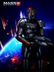 Mass Effect 3 Universal Shepard (2012)