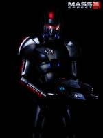 Mass Effect 3 In The Dark (2012) by RedLineR91
