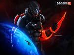 Mass Effect 3 Forever Captain Shepard (2012)