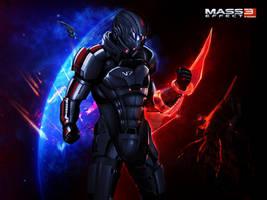 Mass Effect 3 Commander Shepard Is Alive (2012) by RedLineR91