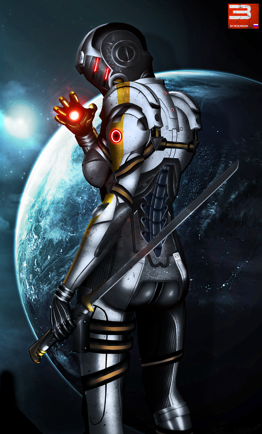 Mass Effect 3 Cerberus Phantom (2012) by RedLineR91