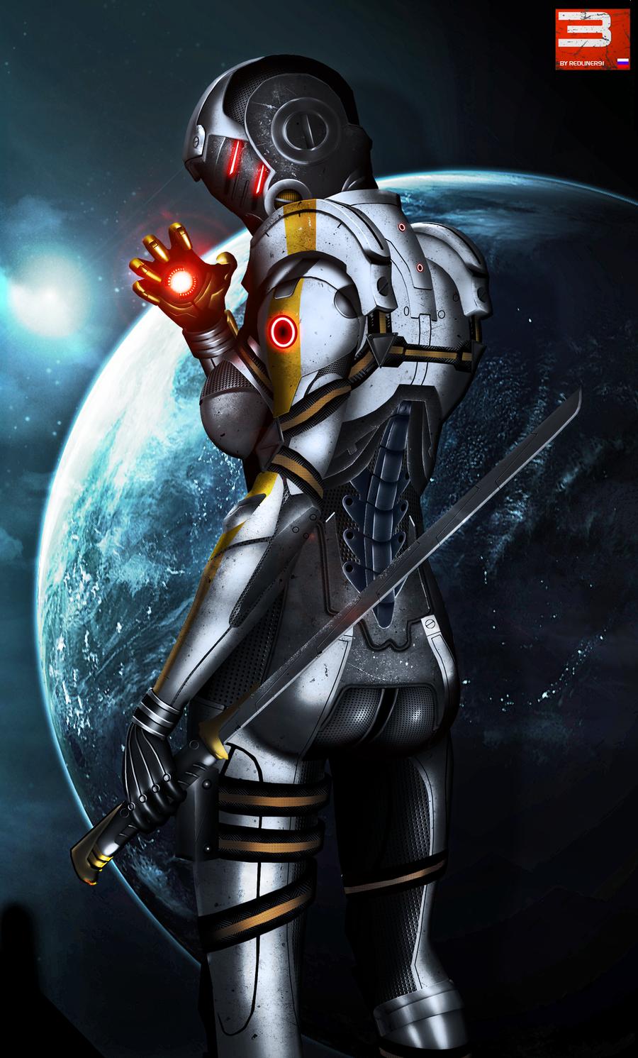 Mass Effect 3 Cerberus Phantom (2012) by RedLineR91