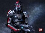 Mass Effect 3 Shepard Rain Edition Vol 2