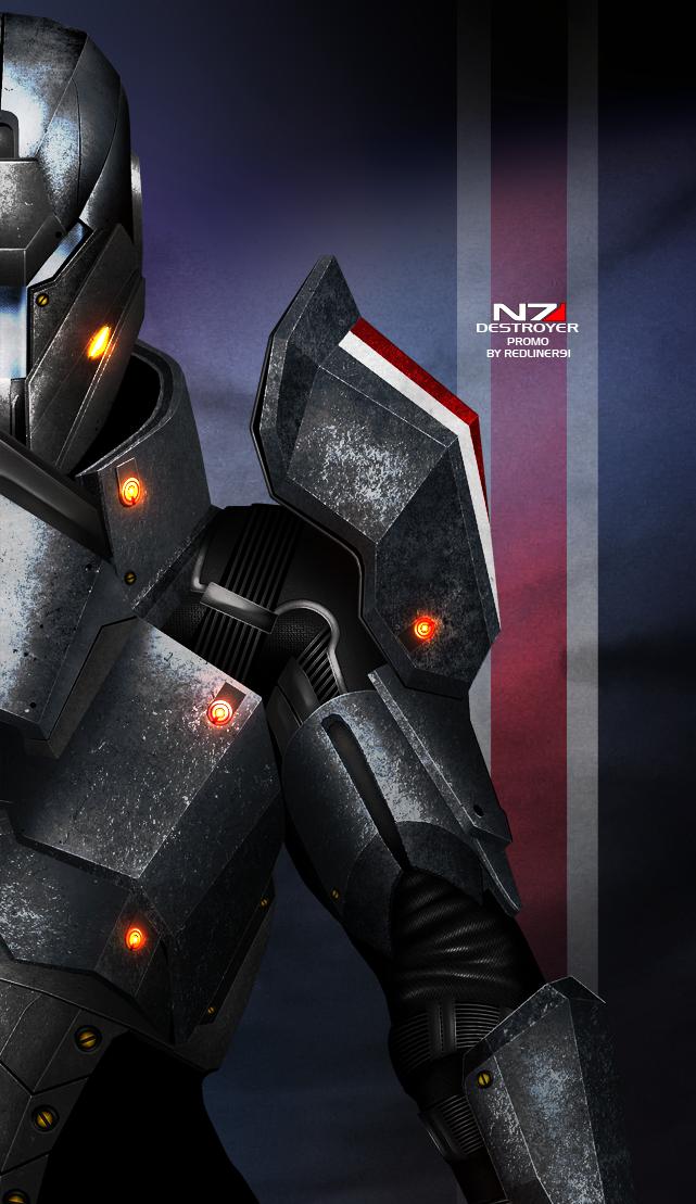 Mass Effect 3 N7 Destroyer PROMO by RedLineR91