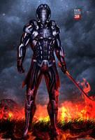 Mass Effect 3 N7 Slayer V2 (2013) by RedLineR91