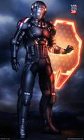 Mass Effect 3 N7 Paladin V2 (2013)