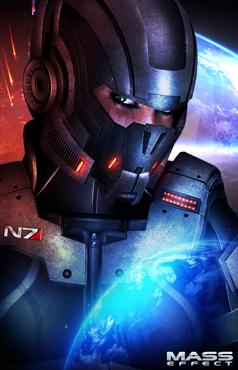 Mass Effect 3 Demolisher N7 PROMO by RedLineR91