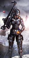Mass Effect 3 Demolisher N7 (2013) by RedLineR91