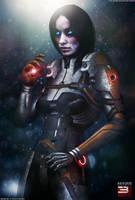 Mass Effect 3 Cerberus Phantom OW (2014) by RedLineR91