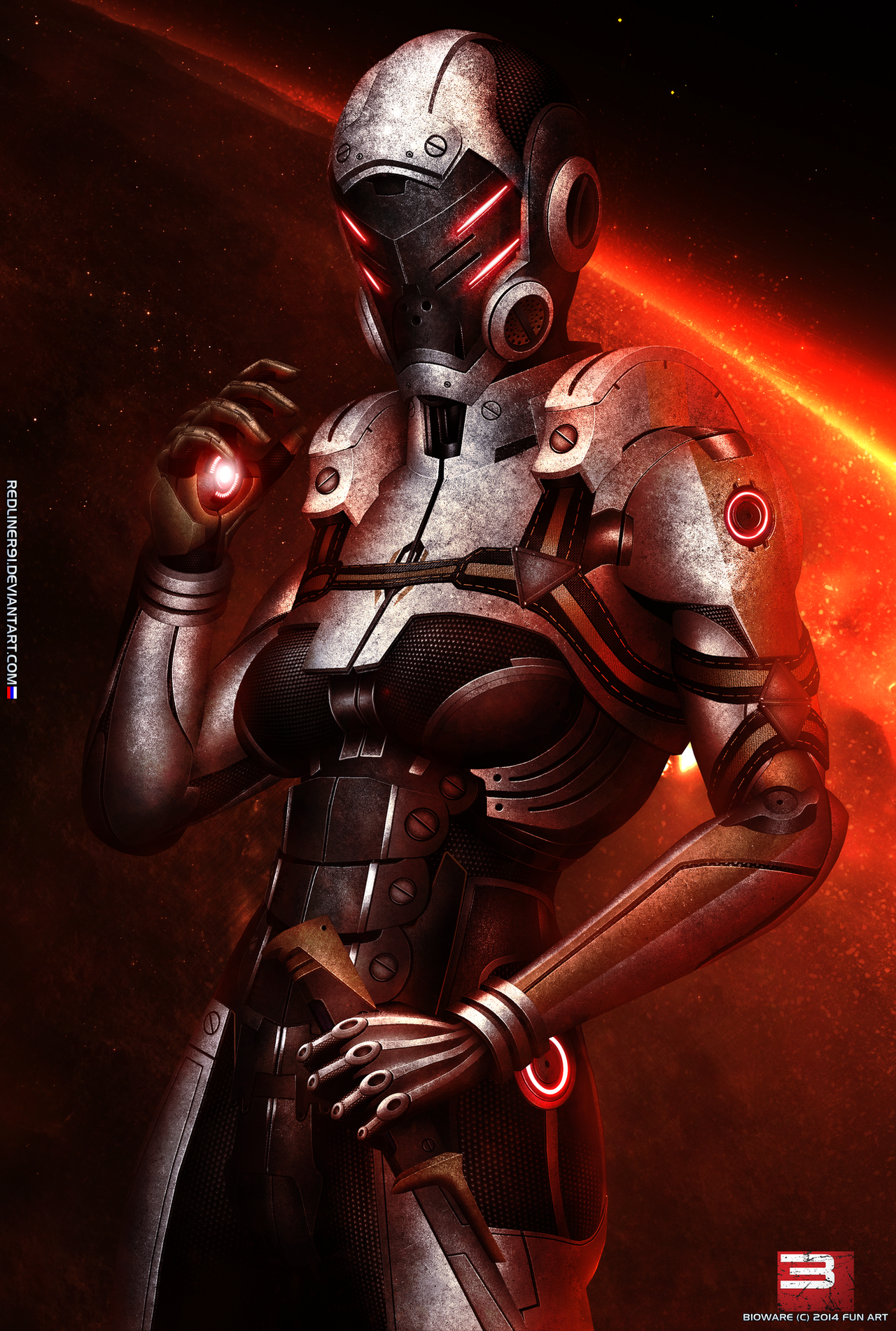 Mass Effect  Legion Loyalty Mission But No Red Ring