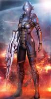 Mass Effect 3 Cerberus Nemesis (2014)