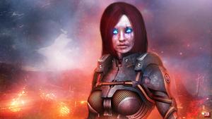 Mass Effect 3 Cerberus Nemesis Unmasked (2014)