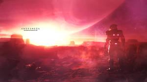 Mass Effect Andromeda Wallpaper 3 (+ ALT VERSION) by RedLineR91