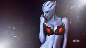 Mass Effect Asari 2 REDness Ultra HD