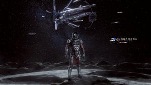 One Way Trip - ME Andromeda Wallpaper 4K by RedLineR91