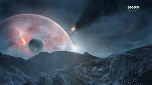 Hyperion Fall - Mass Effect Andromeda Wallpaper 4K