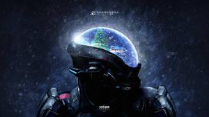 Christmas Vision - Mass Effect Andromeda 4K