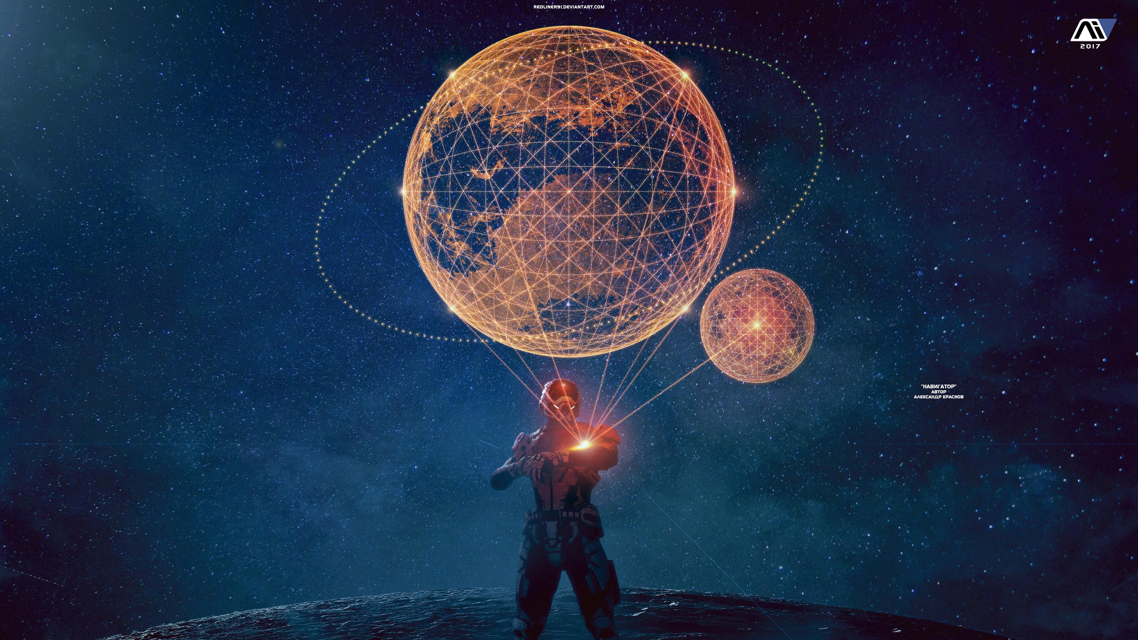 Navigator - Mass Effect Andromeda Wallpaper 4K