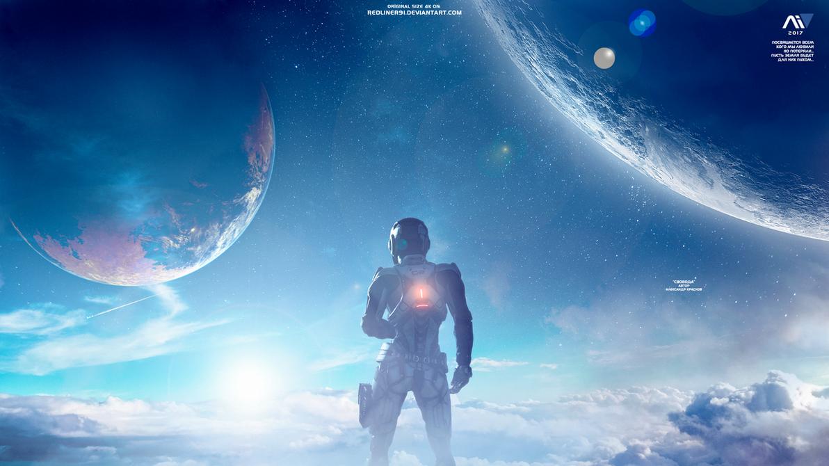 Freedom - Mass Effect Andromeda Wallpaper 4K by RedLineR91 ...