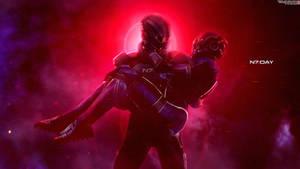 Together - Mass Effect N7 Day Wallpaper 4K by RedLineR91