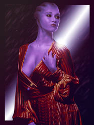 True Color - Mass Effect Trilogy Asari Poster