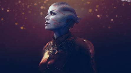 Survivor - Mass Effect Trilogy Asari 4K by RedLineR91