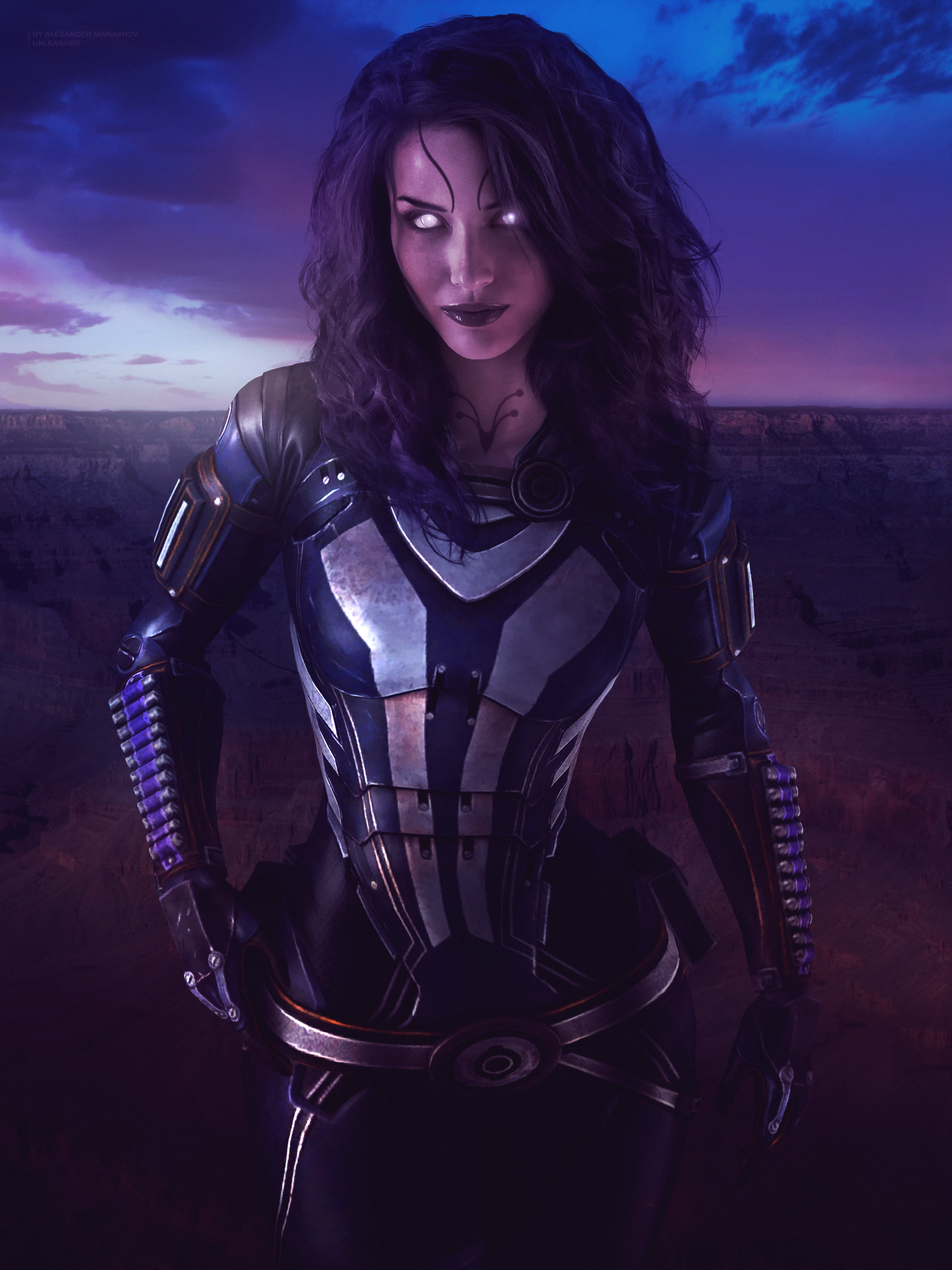 Unleashed - Mass Effect Trilogy Tali'Zorah Poster by RedLineR91