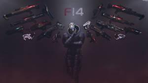 Heartbreaker - Mass Effect Garrus Wallpaper 8K