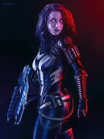 Impulse - Mass Effect Trilogy Tali'Zorah Poster