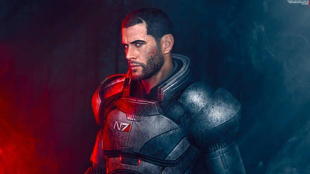 The Rebel - Mass Effect Trilogy Shepard 4K