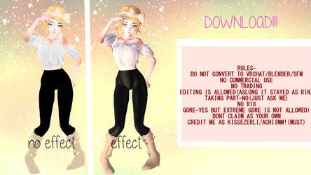 TDA Rin sweetie!DL by AchiiMM