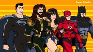SUPER FRIENDS BY ZACK SNYDER ^__^