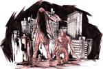 Elektra vs Daredevil