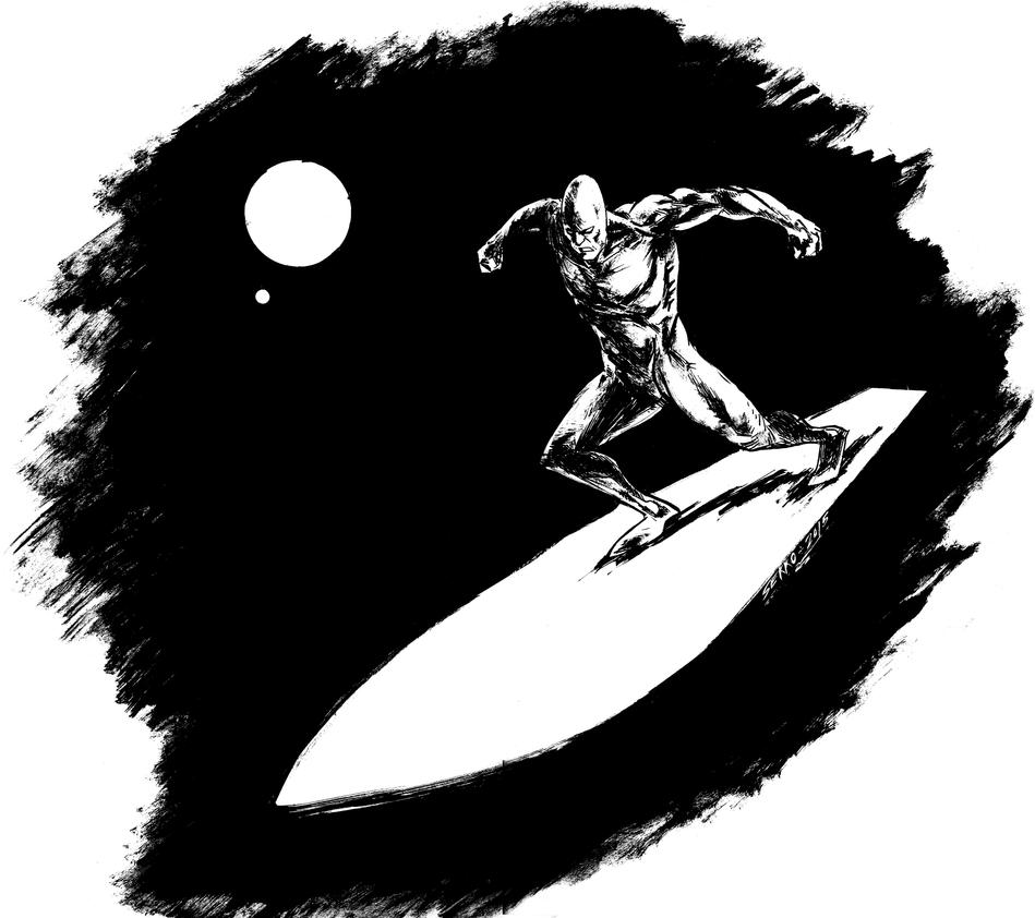 Silver Surfer by Carlossoares