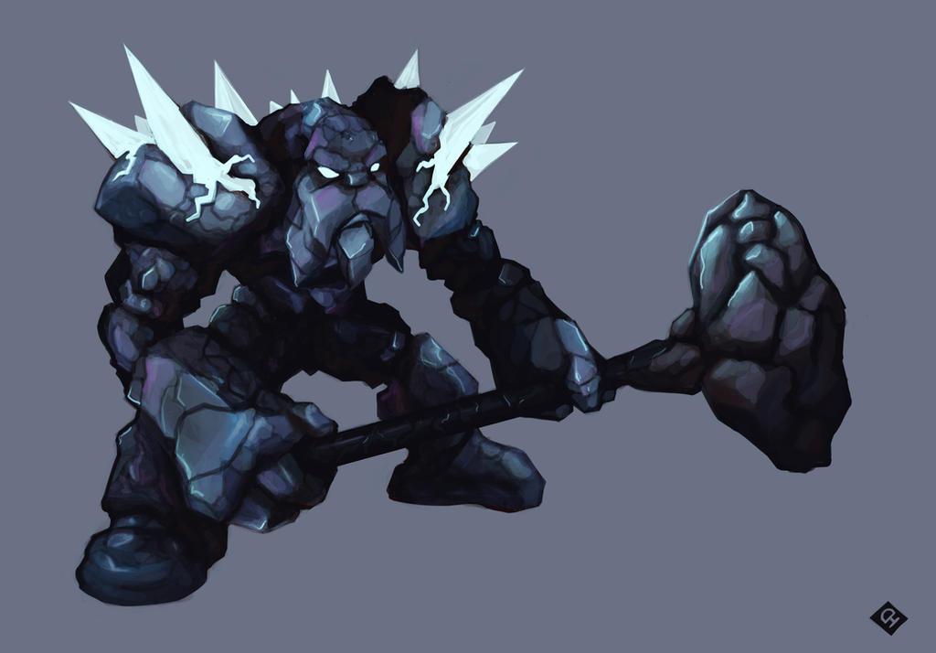 Bestiaire de Dùralas  Rock_dwarf_by_cheelan-d46k7ts
