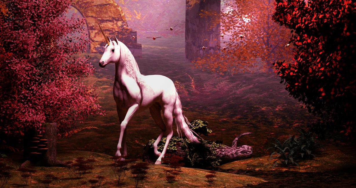 Unicorn by 3drenders